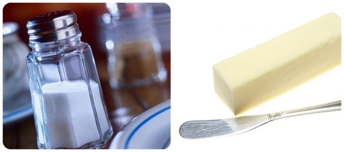 Sal y mantequilla