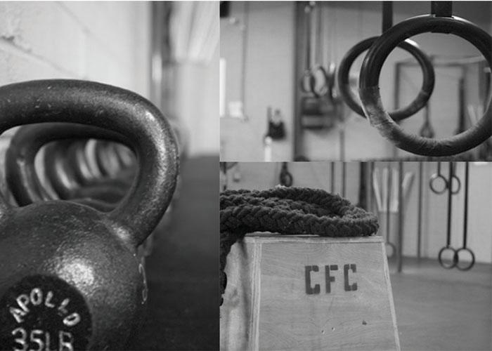 Imagen de un box de CrossFit
