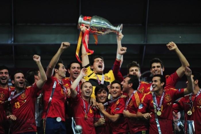 España gana la Eurocopa 2012