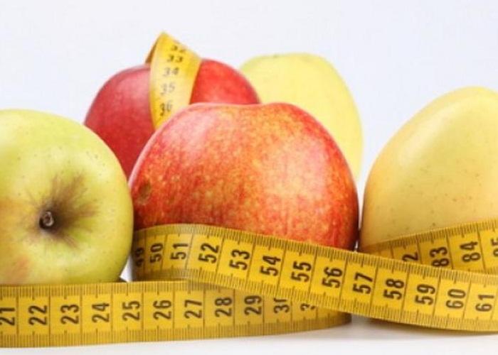La fruta como parte de una dieta sana.