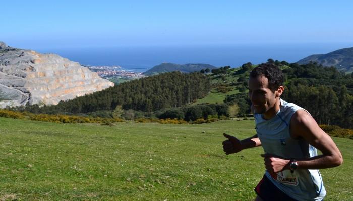 Entrenando por la montaña
