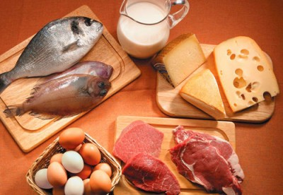 Productos ricos en proteínas