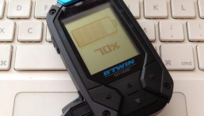 GPS para ciclistas de Btwin