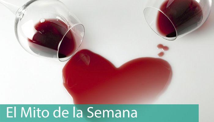Dos copas de vino y un corazón