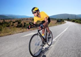 Velocidad en bicicleta de carretera