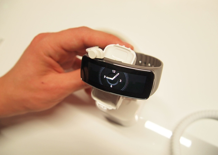 Samsung Gear Fit gris