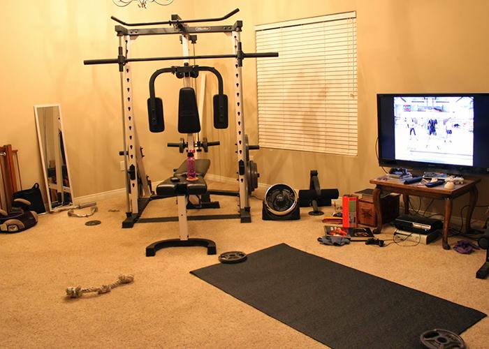 C mo montar tu propio gimnasio en casa - Material de gimnasio para casa ...