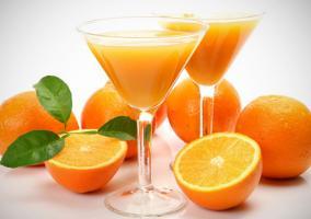 naranjas y zumo