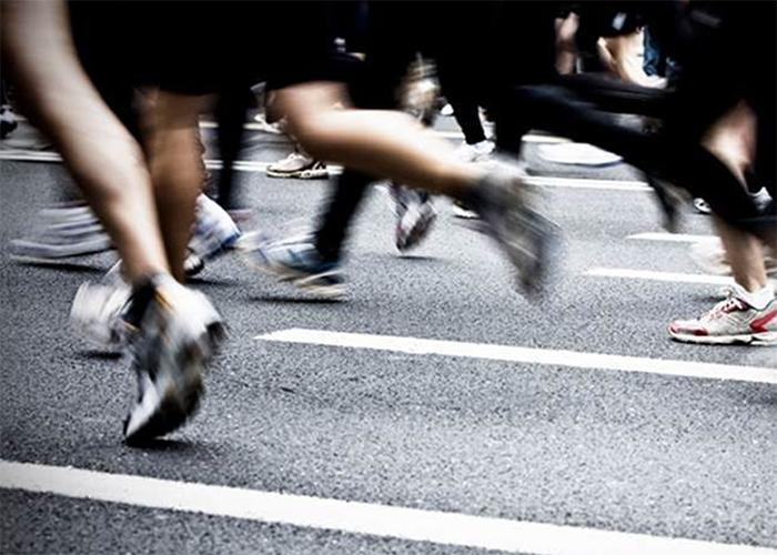 Correr distancia tiempo