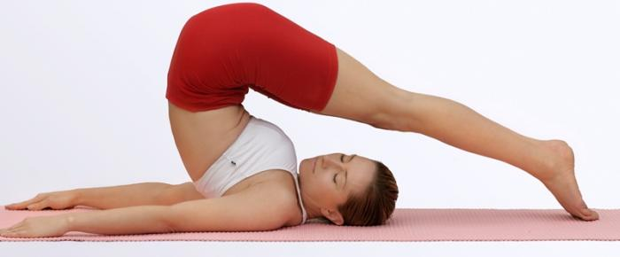 Posición en Yoga