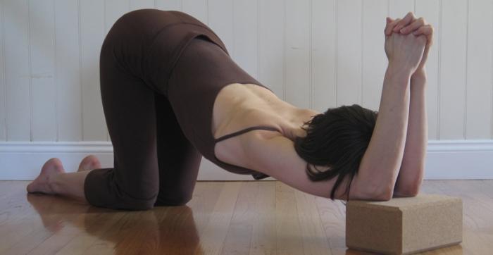 Postura peligrosa para hombros