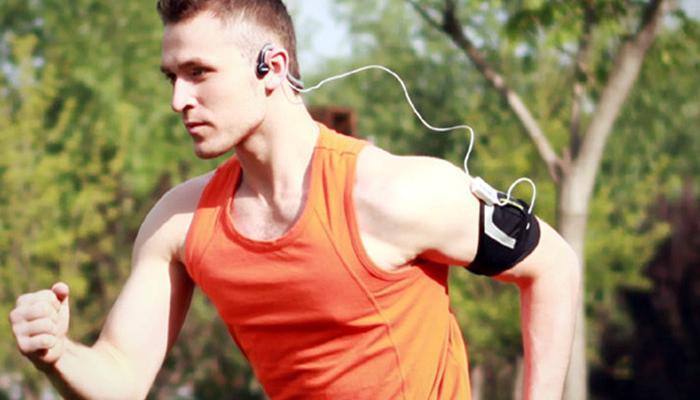 Corriendo con música