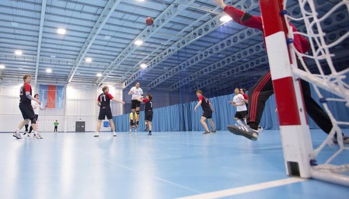 Foto de entrenamiento de balonmano