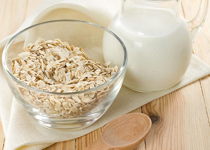 dieta con avena para ganar masa muscular