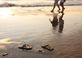 Beneficios caminar playa