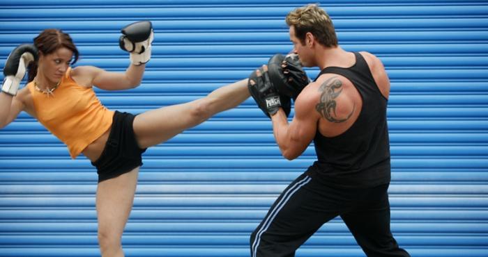 Boxeo ayuda a bajar de peso