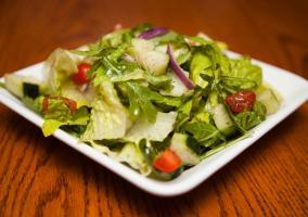 Un buen plato de ensalada