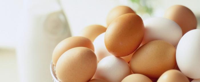 Huevos de dos colores