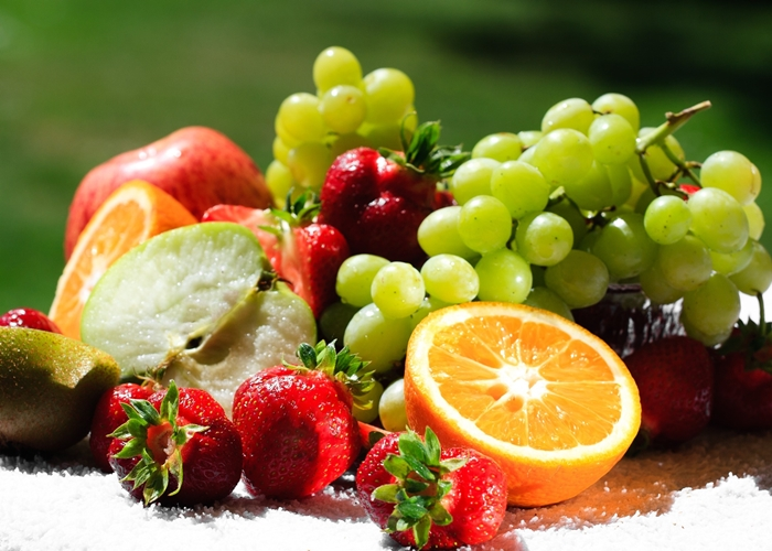 peso aproximado de frutas y verduras