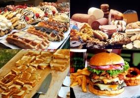 Algunos de los alimentos menos recomendados