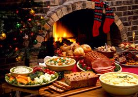 recuperarse comilona navidad