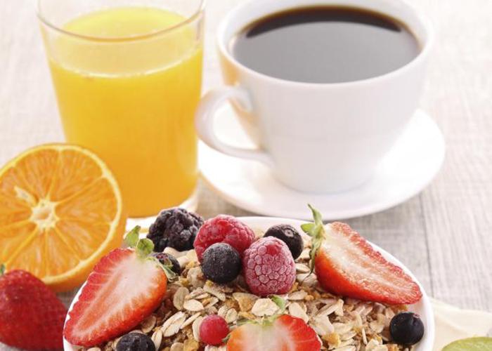 Deportista un debe que desayunar