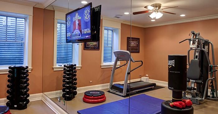 Beneficios de un gimnasio en casa for Gimnasio en casa