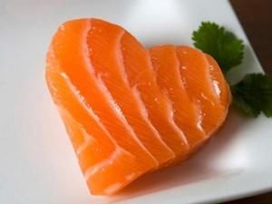 salmon para el corazon