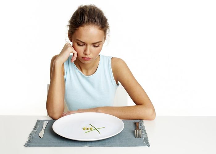Comer poco y no adelgazar