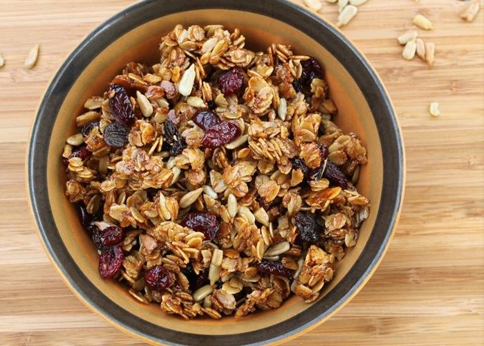 Granola: un excelente snack para deportistas