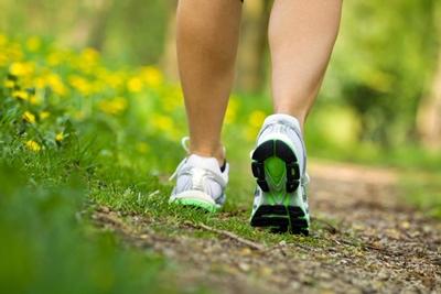 Caminar contra las varices