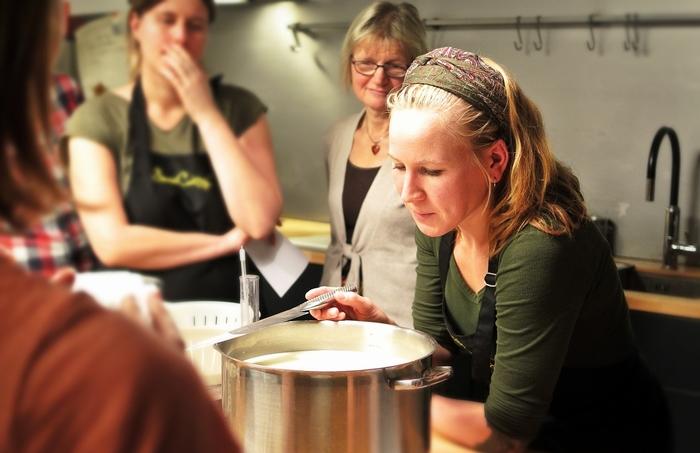 Tomar curso de cocina
