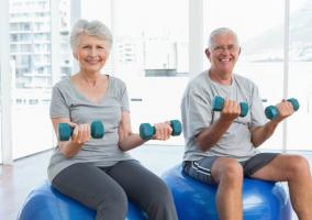 En la vejez ejercicio es beneficioso