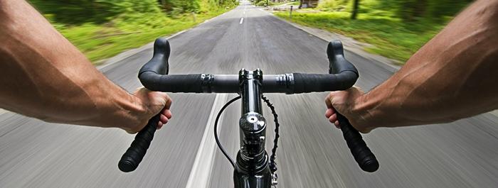 Manos de ciclista
