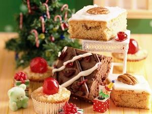 Pasteles típicos de Navidad