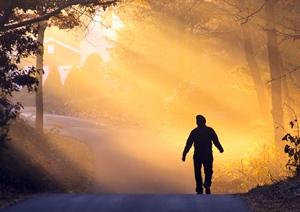 Caminando por la mañana