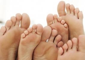 Cuidados pies edades