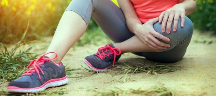Rodilla de runner con tendinitis