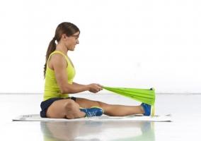 Ejercicios bandas elásticas bajar peso