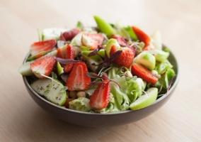 Alimentos ensalada saludable
