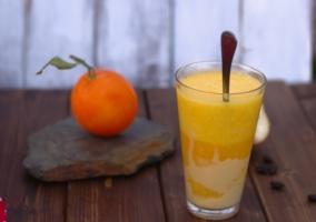 Batidos base naranja