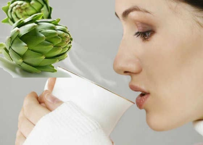 Beneficios agua alcachofa