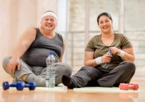 Ejercicios personas sedentarias obesidad