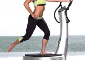 Ejercicios plataforma vibratoria bajar peso