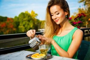 Agregar té verde