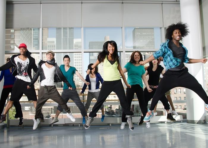 Bailando Hip Hop