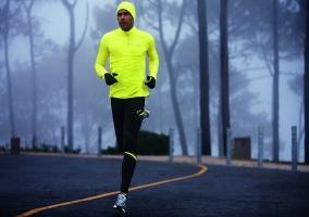 Correr con gripe