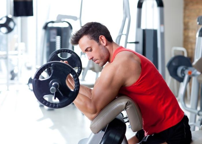 ejercicios para desarrollar el musculo biceps