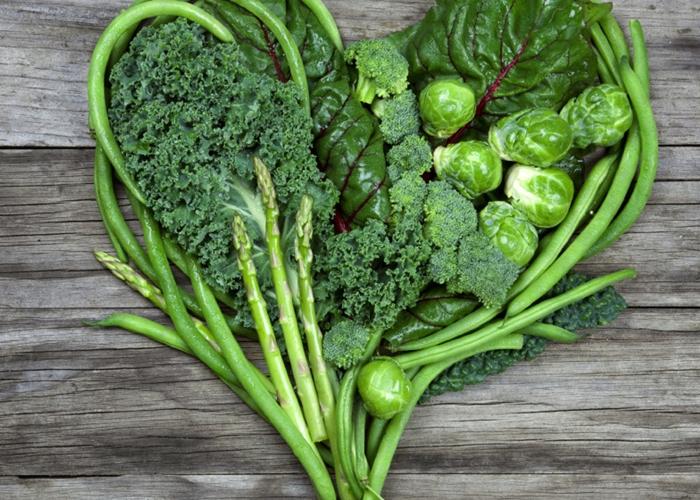 Vegetales que aportan Vitamina k