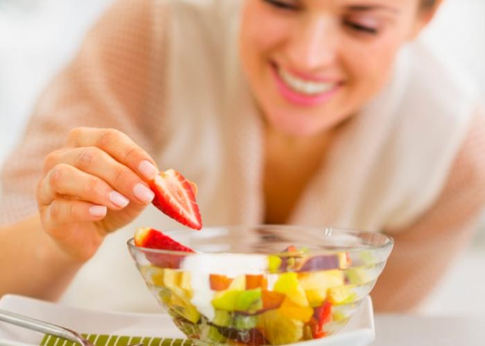 Formas comer fruta